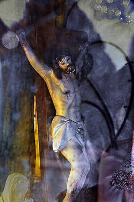 Christ On The Cross Hurley New Mexico Original by John Hanou