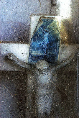 Christ On The Cross Nogales Sonora Mexico Original by John Hanou