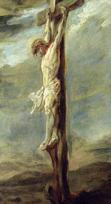 Rubens Painting - Christ On The Cross by Rubens