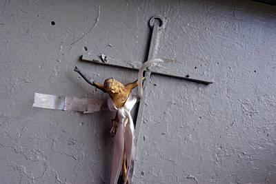 Christ On The Cross San Juan Puerto Rico Original by John Hanou