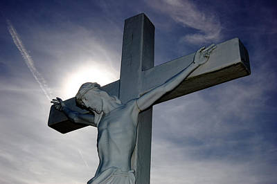 Photograph - Christ On The Cross by Steve Hurt