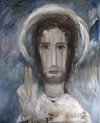 Embodiment Painting - Christ Pantocrator by Horst Braun