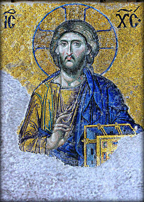 Pantocrator Photograph - Christ Pantocrator II by Stephen Stookey