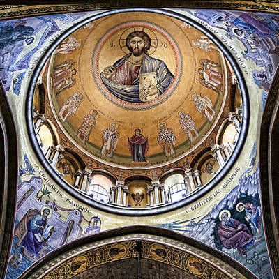 Byzantine Photograph - Christ Pantocrator -- No.5 by Stephen Stookey