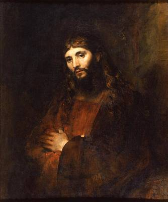 Painting - Christ by Rembrandt