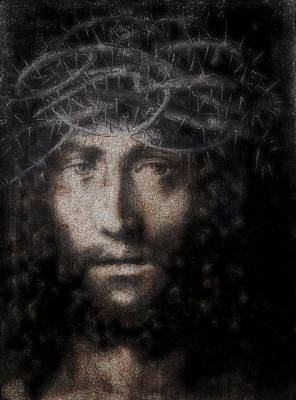 Jesus Christ Icon Digital Art - Christ Suffering by Daniel Hagerman