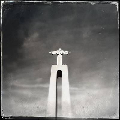 Photograph - Christ The King Statue I by Marco Oliveira