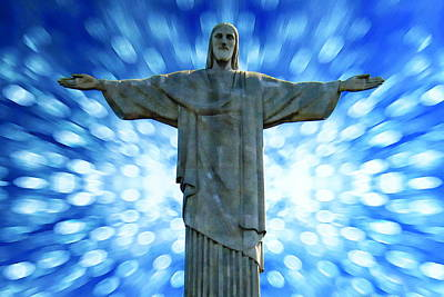 Photograph - Christ The Redeemer by Anthony Dezenzio