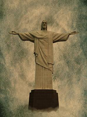 Christ The Redeemer Brazil Art Print