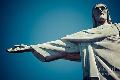 Food And Flowers Still Life Rights Managed Images - Christ the Redeemer Royalty-Free Image by Mariusz Prusaczyk