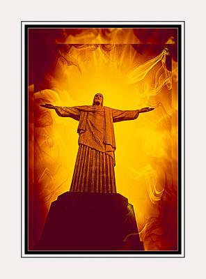 Christ The Redeemer Ver - 3 Art Print