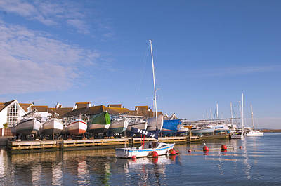 Photograph - Christchurch Harbour by Mick House
