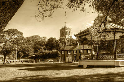 Photograph - Christchurch Village Green by Chris Day