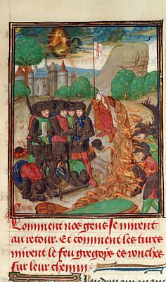 Christian Army Saved By Prayer Art Print