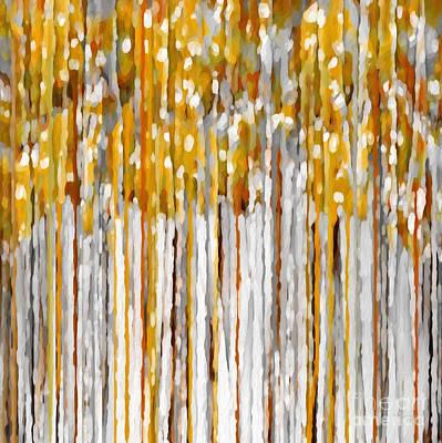 Message Art Painting - Christian Art- I Am The Vine. John 15 5 by Mark Lawrence