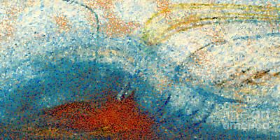 Angel Art Painting - Christian Art- Seek First. Matthew 6 33  by Mark Lawrence