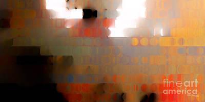 Religious Art Digital Art - Christian Art- Wall Of Separation. Ephesians 2 14  by Mark Lawrence