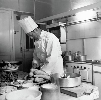 Dior Photograph - Christian Dior's Private Chef by Horst P. Horst