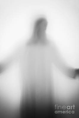 Opaque White Photograph - Christian by Margie Hurwich
