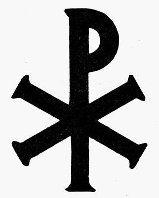 Christo Painting - Christian Monogram by Granger