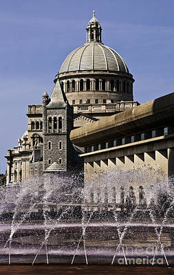 Photograph - Christian Science Center Boston  by Phil Cardamone
