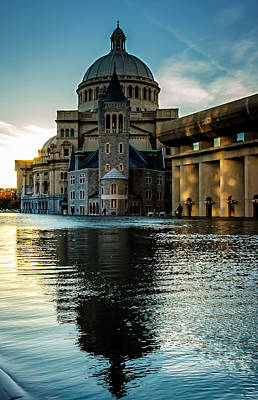 Photograph - Christian Science Church Boston by Steven Shapse