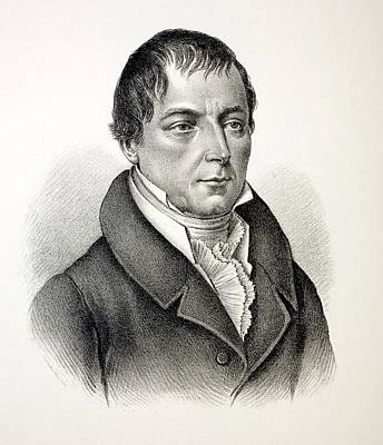 Christian Von Buch Print by Paul D Stewart