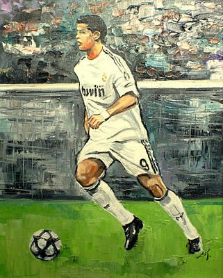 Christiano Ronaldo Art Print