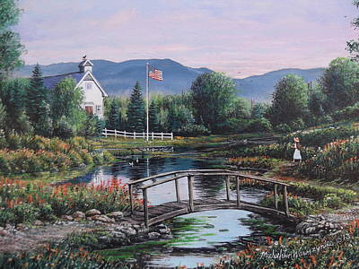 Painting - Christians Creek by Michael Wawrzyniec