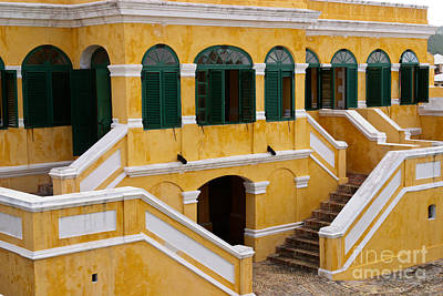 Christiansted National Historic Fort Art Print by Iris Richardson