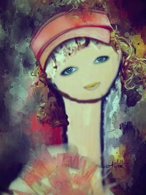 Christina Digital Art - Christina by Pikotine Art