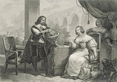 Christina Queen Of Sweden Art Print