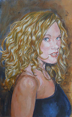 Painting - Christine Anderson by Bryan Bustard