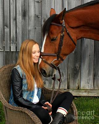 Photograph - Christine Bailey 10 by Life With Horses