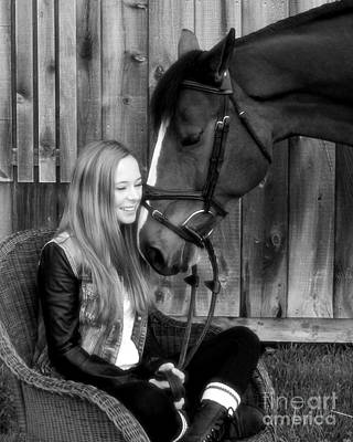 Photograph - Christine Bailey 11 by Life With Horses