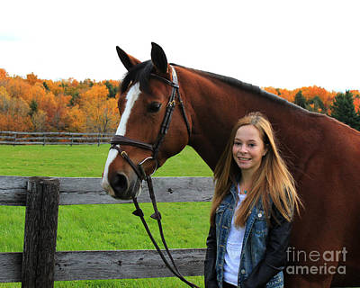 Photograph - Christine Bailey 13 by Life With Horses