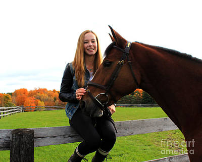 Photograph - Christine Bailey 16 by Life With Horses