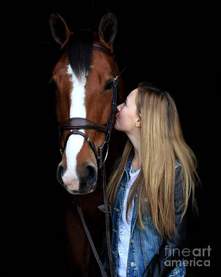 Photograph - Christine Bailey 4 by Life With Horses