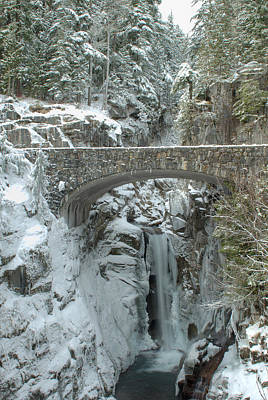 Photograph - Christine Falls by Jeff Cook
