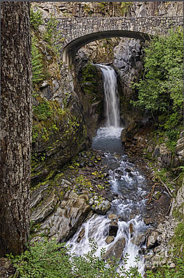 Photograph - Christine Falls by Sharon Seaward