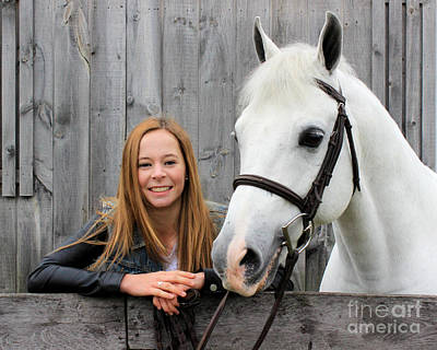 Photograph - Christine Sky 32 by Life With Horses