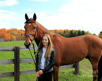 Photograph - Christine Stewie 14 by Life With Horses