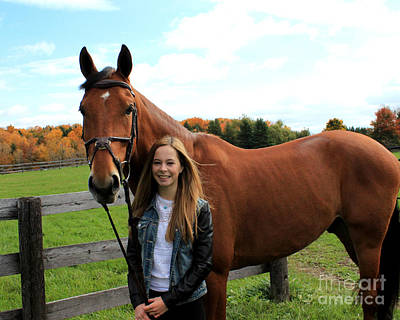 Photograph - Christine Stewie 15 by Life With Horses