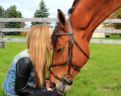 Photograph - Christine Stewie 25 by Life With Horses