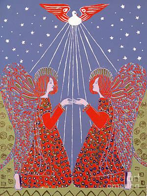 Christmas 77 Print by Gillian Lawson