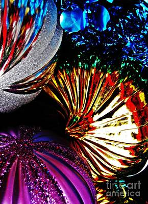 Keith Richards - Christmas  Abstract 22 by Sarah Loft