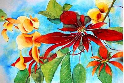Painting - Christmas All Year Long by Debbie Lewis