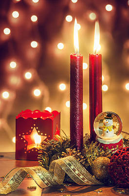 Celebrate Photograph - Christmas Ambiance by Carlos Caetano