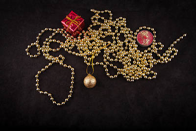 Christmas Photograph - Christmas And Pearls by Modern Art Prints