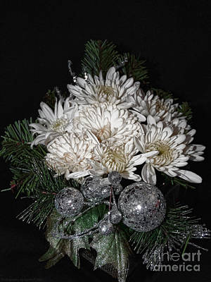 Photograph - Christmas Arrangement by Gena Weiser